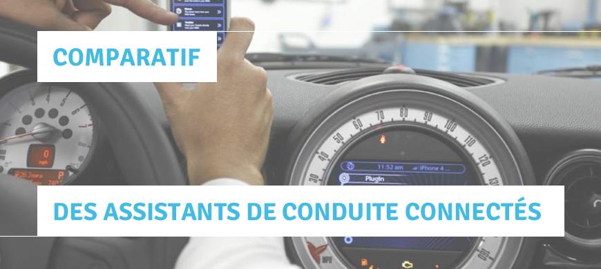 comparatif assistant conduite connecte