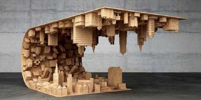 imprimante 3D bois