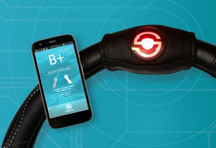 Accessoire pour voiture connectée SmartWheel