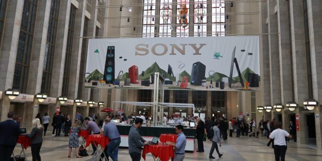 IFA 2017 Enceinte connectée Sony stand