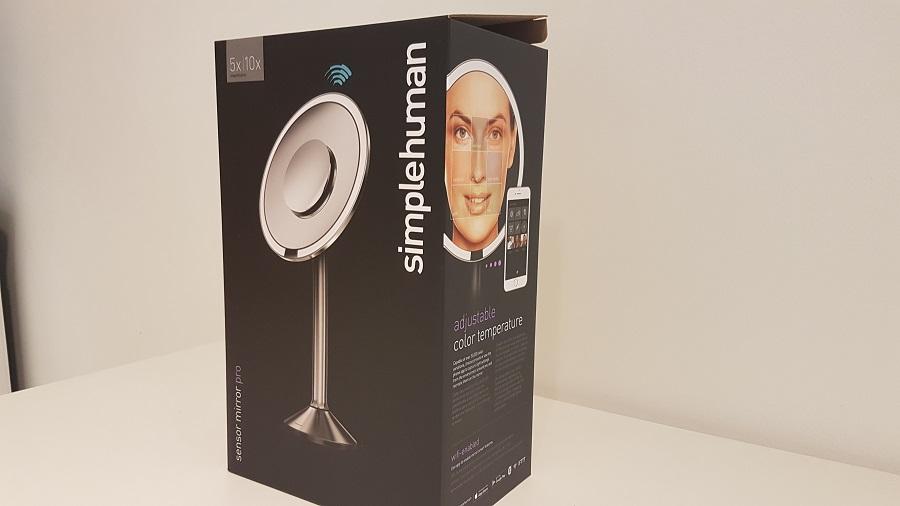 Test Sensor Mirror Pro Unboxing boîte de côté
