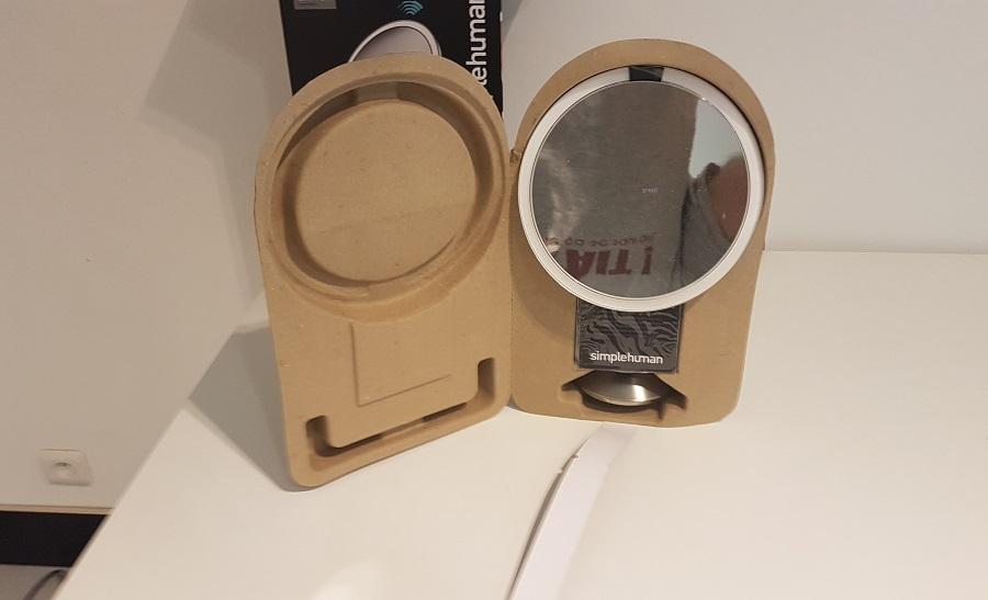 Test Sensor Mirror Pro Unboxing Boîte et cartons