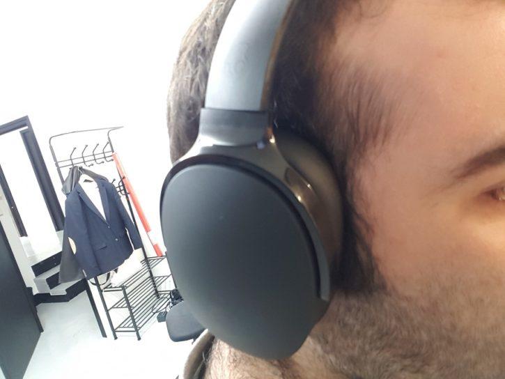 Test Skullcandy Hesh 3 Prise en main casque sur la tête