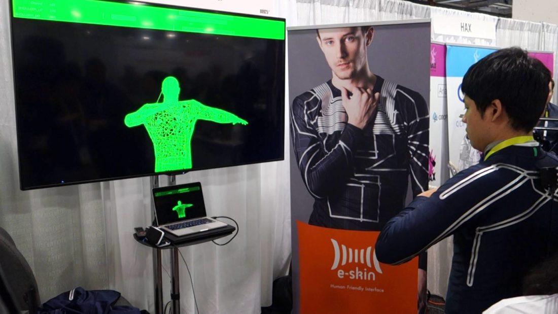 e-skin contrôleur xenoma