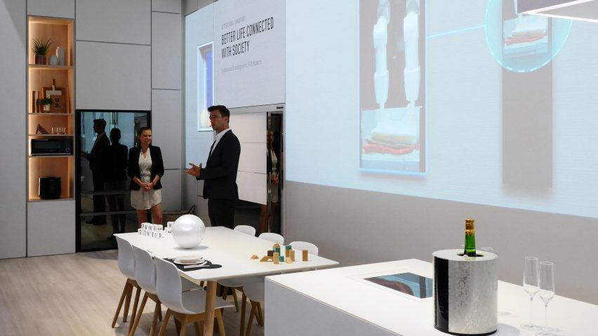 Panasonic Pr Sente Une Maison Connect E En Mode Gadgets