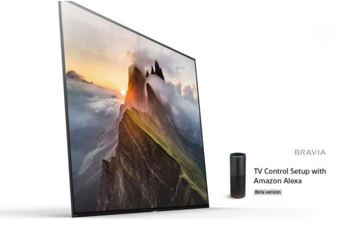televiseur sony amazon Echo Alexa objet connecté