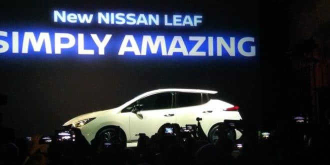 Nissan Futures Nissan Leaf