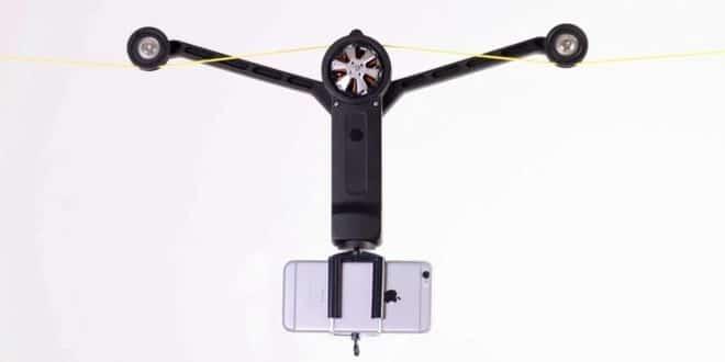 Wiral LITE : l'accessoire indispensable pour smartphone ou GoPro pour filmer où les drones ne peuvent pas aller