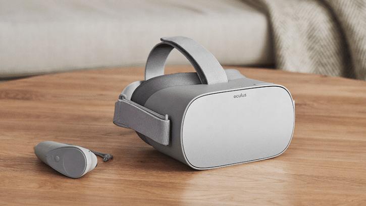 casque realite virtuelle oculus go vr essai design prix date caracteristiques jeu applications