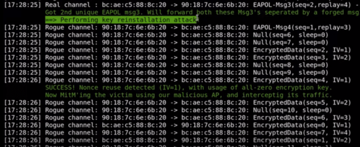 krack hack wifi wpa objet connecte securite piratage