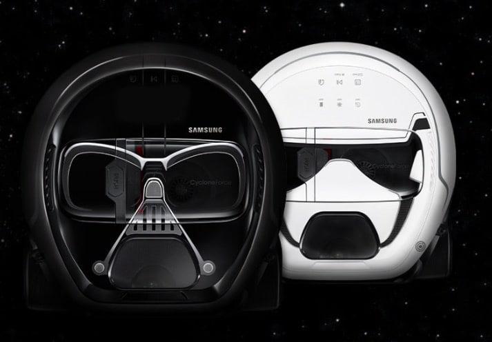 Star Wars, Darth Vader, aspirateur robot, aspirateur, robot aspirateur, Samsung