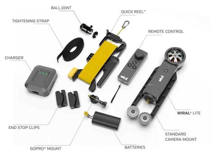 Wiral lite filmer drone impossible accessoire smartphone gopro go pro
