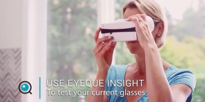 kickstarter ,eyeque, acuité visuelle, vue 20/20, ophtalmologue, vision connectée