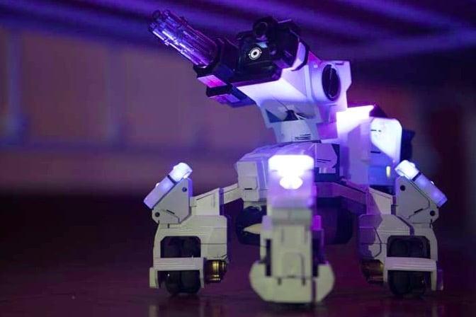 drone de combat, drone, droide, drone versus, jeux drone, drone noël; GEIO, kickstarter