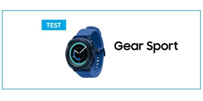 Samsung gear sport test