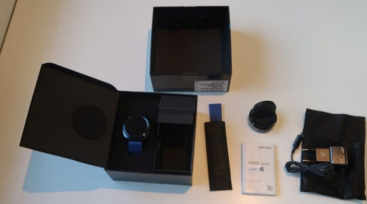 Samsung gear sport unboxing complet