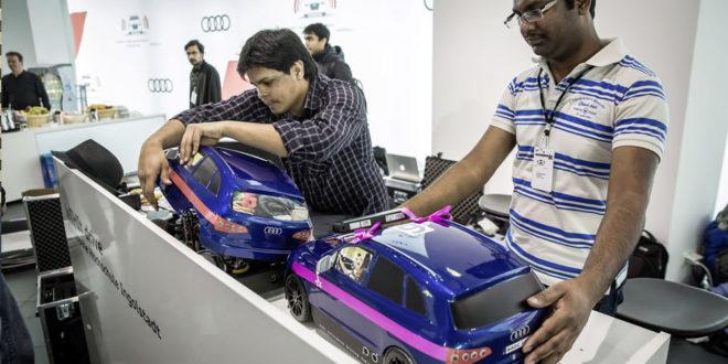 Audi Autonomous Driving Cup concours voitures autonomes étudiants