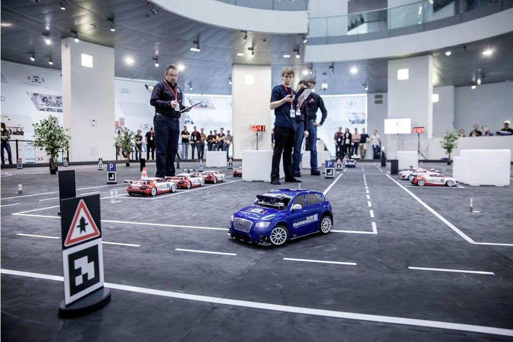 Audi Autonomous Driving Cup concours