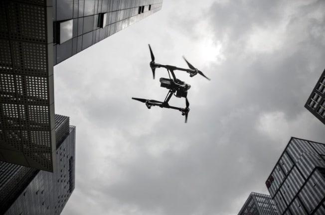 drone, chine, dji, drone public, drone armée, drone sécurité, drone spark