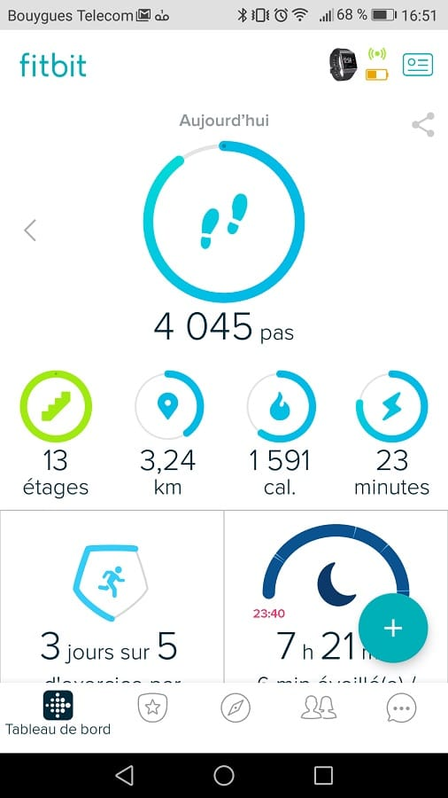 fitbit ionic application