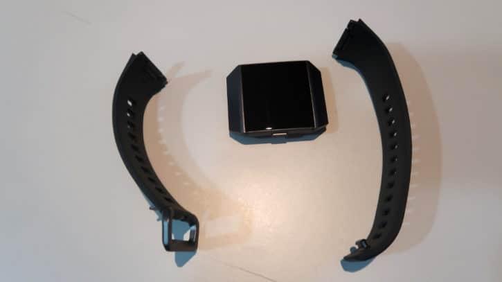 fitbit ionic demontage bracelet
