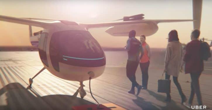 Uber, Nasa, UberAir, Elevate, voiture volante, voiture autonome, voiture intelligente, voiture sans pilote