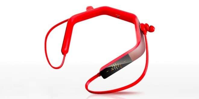 casque audio, kickstarter, casque conduction osseuse, tracker santé