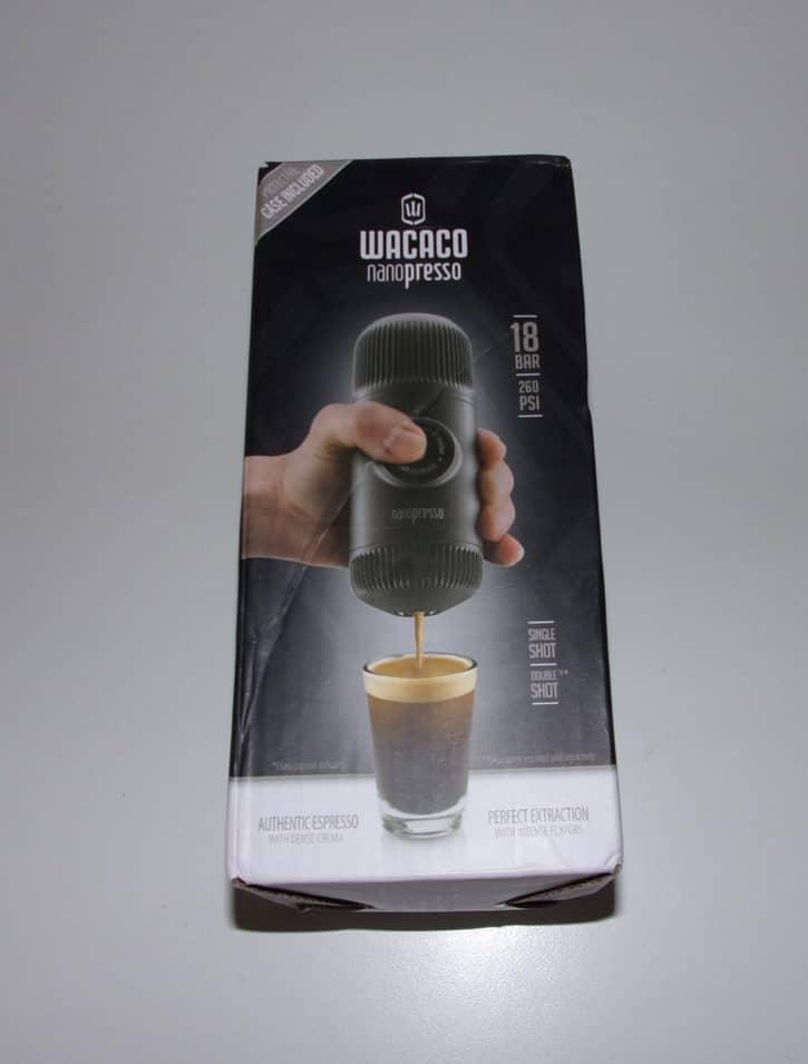Nanopresso, wacaco, machine à café, expresso, portable, test,