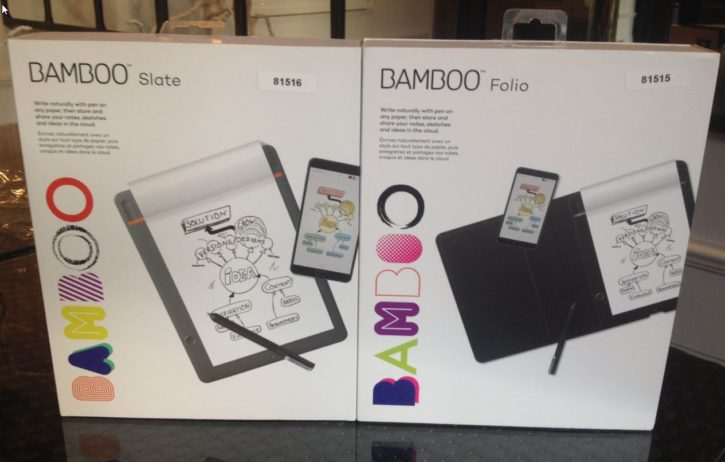 Bamboo slate, Bamboo Folio, bloc-notes connectés, test, unboxing