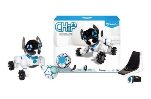 Le robot chien connecté WowWee Chip et son bracelet de commande à 110€ sur Rueducommerce