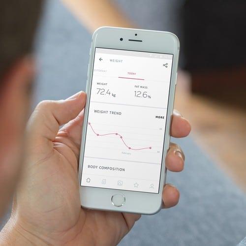 Balance connectée, amazon, bon plan, promotion, body +, Nokia, application, poids,