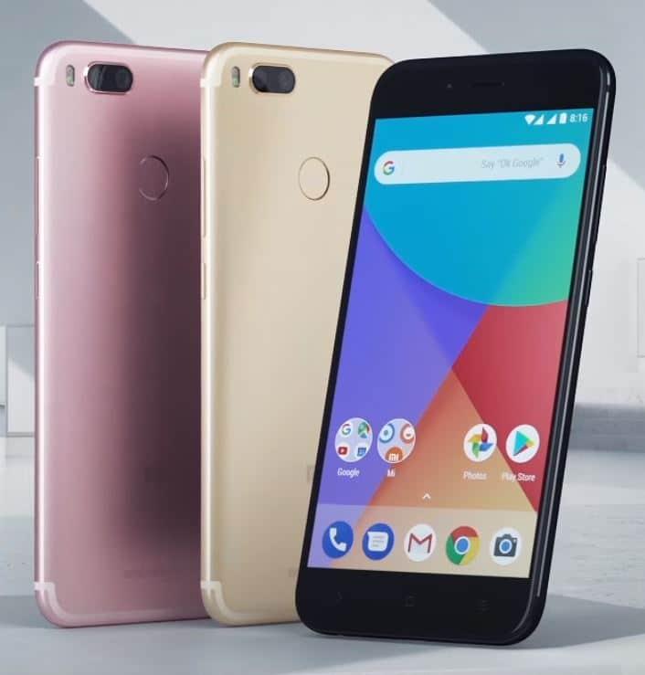 Le smartphone phablet Xiaomi Mi A1