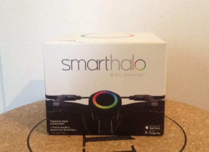 SmartHalo, vélo, vélo connecté, navigation, sport, test, review, avis