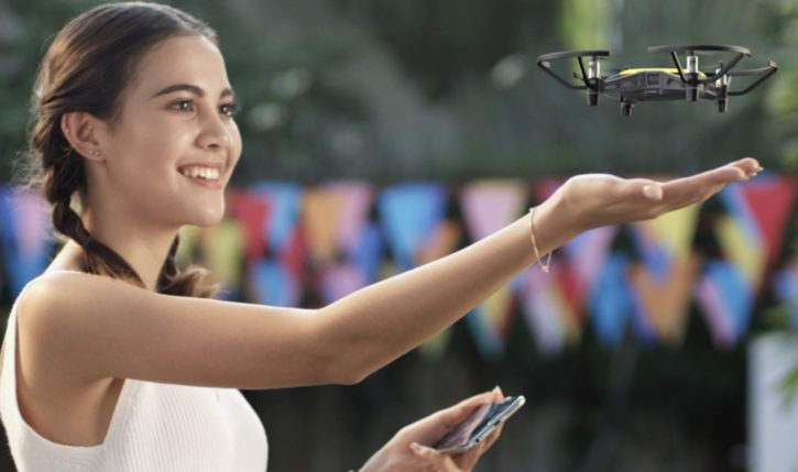 drones 2018 : Tello fabriqué avec DJI et Intel