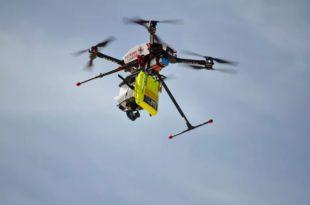 drone secouriste en haute mer