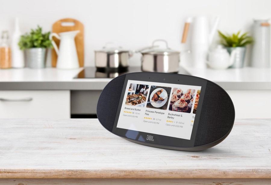 JBL link view google assistant audio 2018