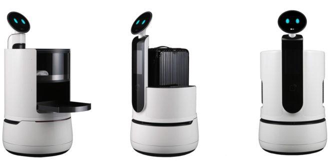 LG, LG CLOi Porter Robot, robot, hôtels, LG CLOi Servant Robot, LG CLOi Robot