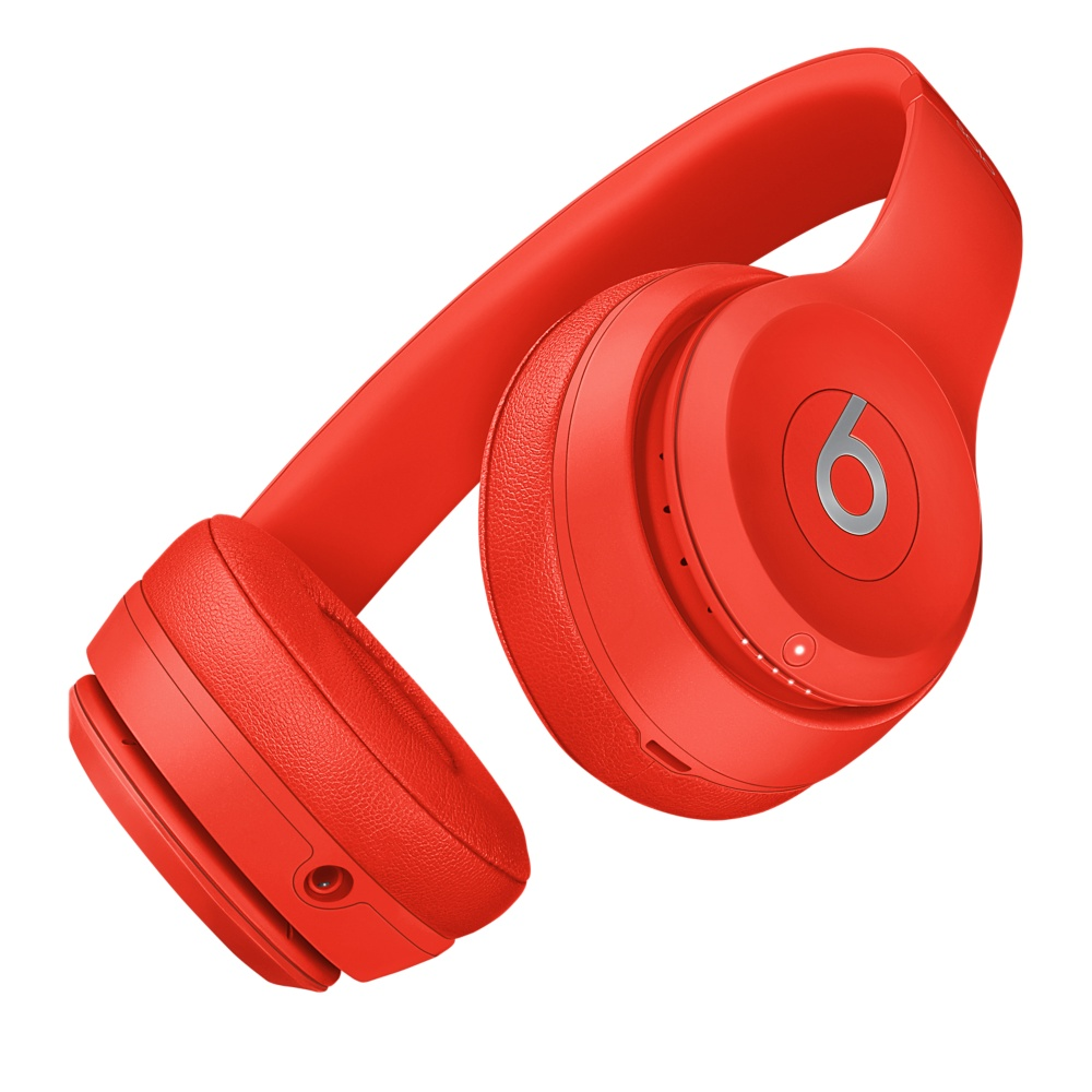 beats solo 3 rouge