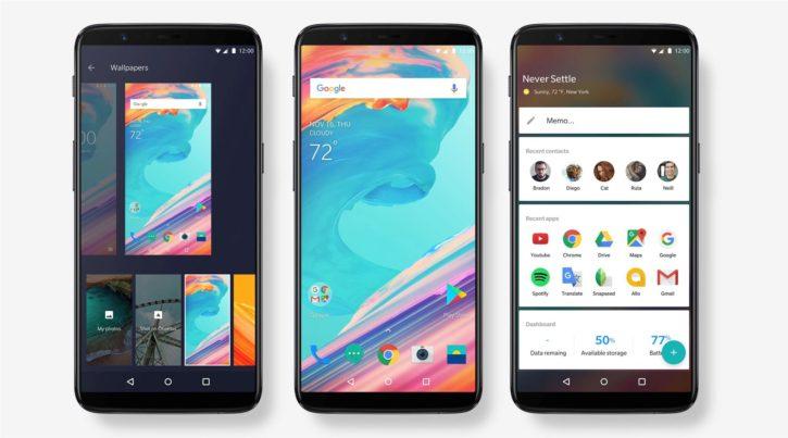 OnePlus 5T sur toutes ses faces