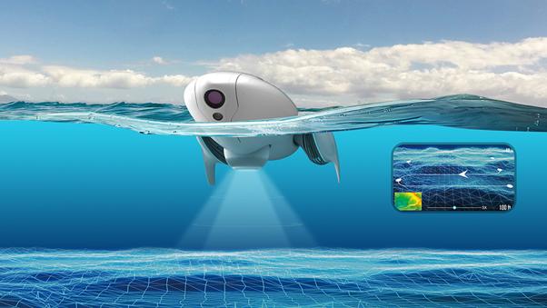 drones 2018 : PowerDolphin radar scientifique