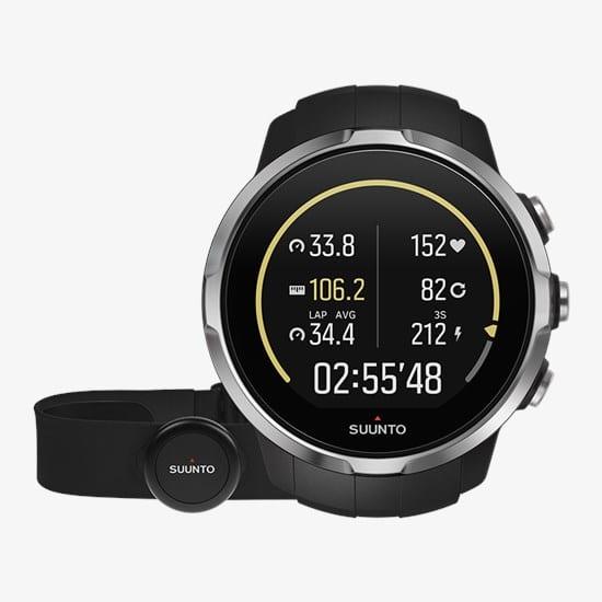 montre connectée pour ski Suunto Spartan Sport HR