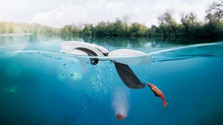 drones 2018 : powerDolphin pour la peche