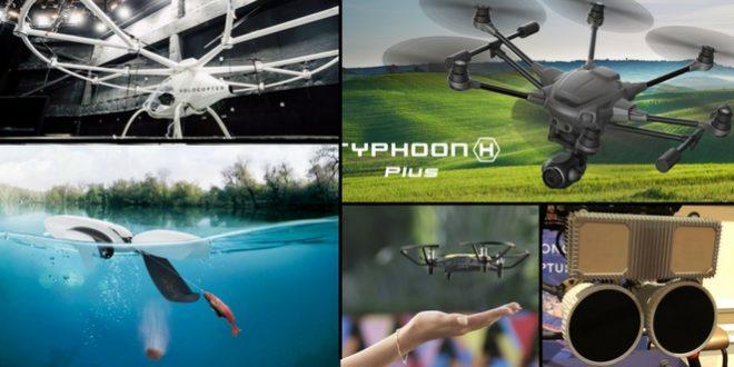 Drones 2018 : Top 5 des engins volants les plus incroyable du CES