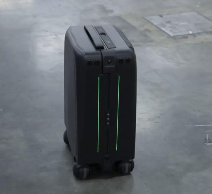 valise connectée, CES 2018, ForwardX, bagage, reconnaissance faciale