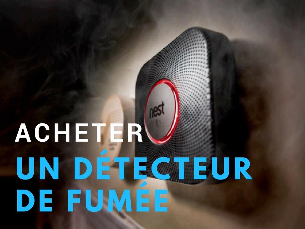 Acheter detecteur de fumée