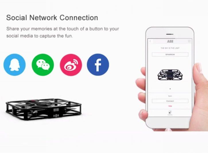 drone et reseaux sociaux