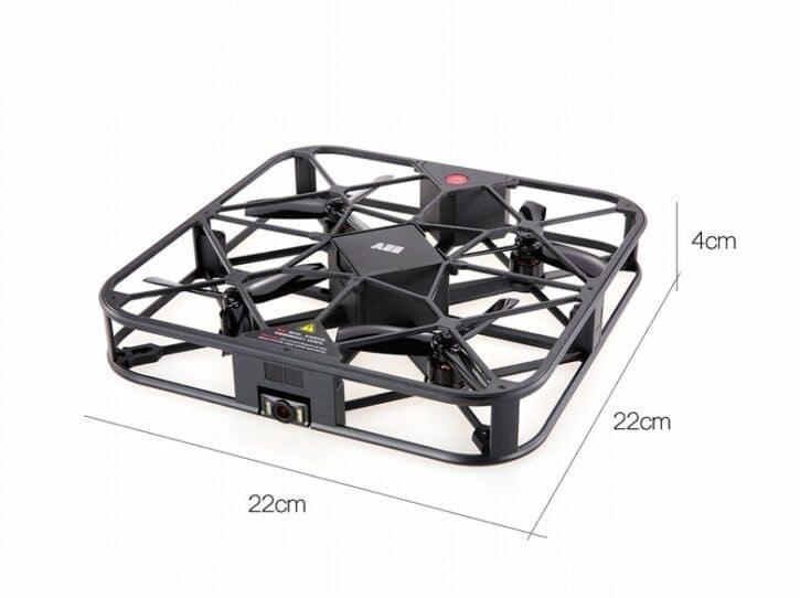 Drone sparow 360 photo et reseau sociaux