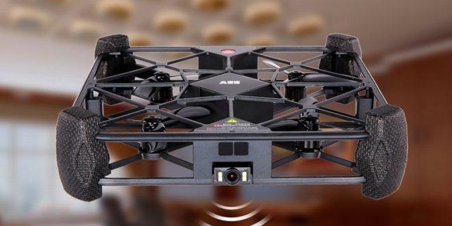 image de une drone à selfie