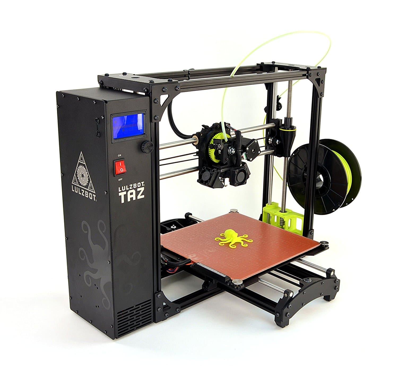 Lulzbot Taz 6: L'imprimante 3D de taille et de qualité