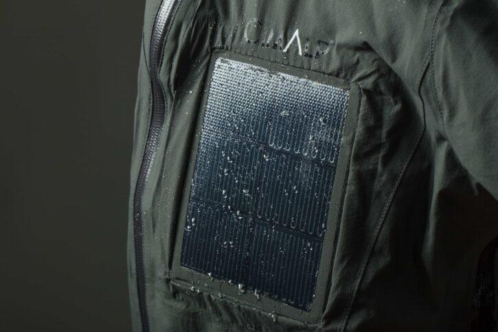 Prototype veste solaire CIMALP et DRACULA